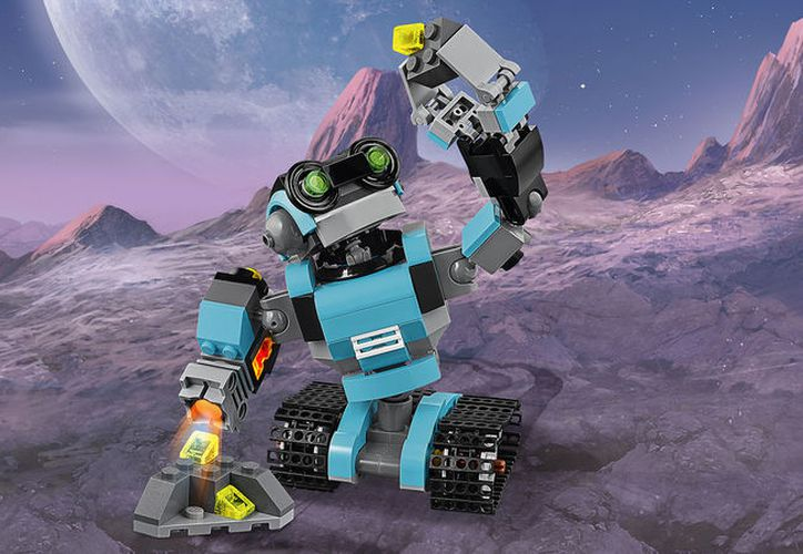 Los 100 niños tendrán como reto armar un prototipo de robot Lego. (Imagen propiedad de Lego)