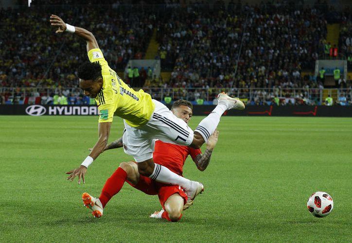 Colombia tratará de superar los octavos con ayuda de Radamel Falcao, que se perdió el Mundial pasado (Foto AP)