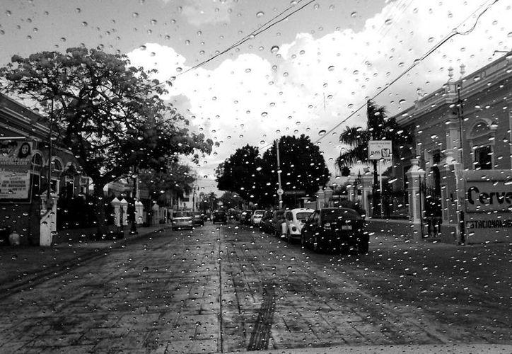 En algunos puntos de Mérida se registraron sólo lloviznas, pero en otros la lluvia estuvo fuerte. (Mario Escalante/SIPSE)