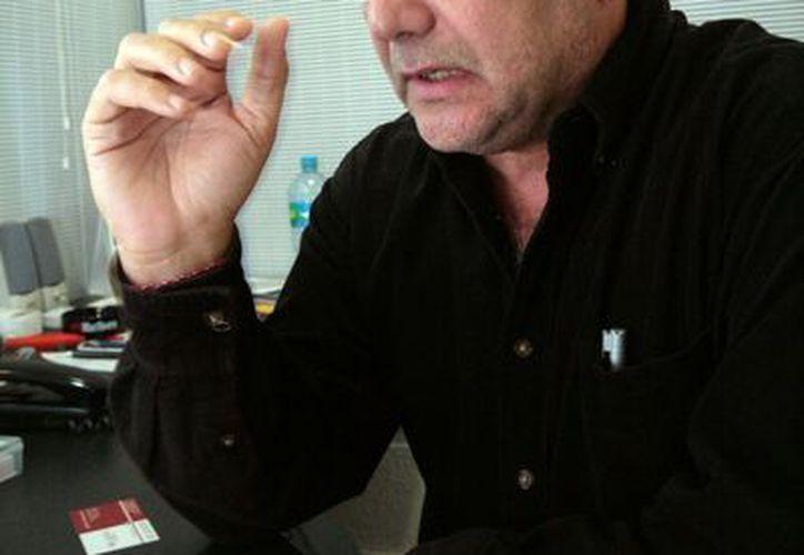 Orlando Pérez Escalante, subdirector general de la empresa Pavos Viridiana. (Antonio Sanchez/SIPSE)