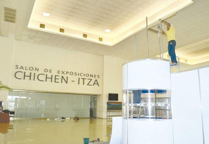 Aunque cuenta con amplios salones el Centro de Convenciones Siglo XXI se encuentra rezagado en el ranking nacional. (Milenio Novedades)