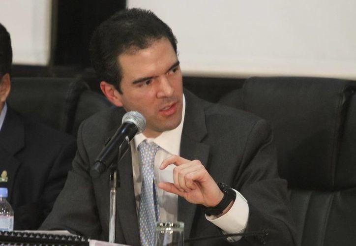 El titular de la Unidad de Planeación Económica de la SHCP, Ernesto Revilla. (Notiex)