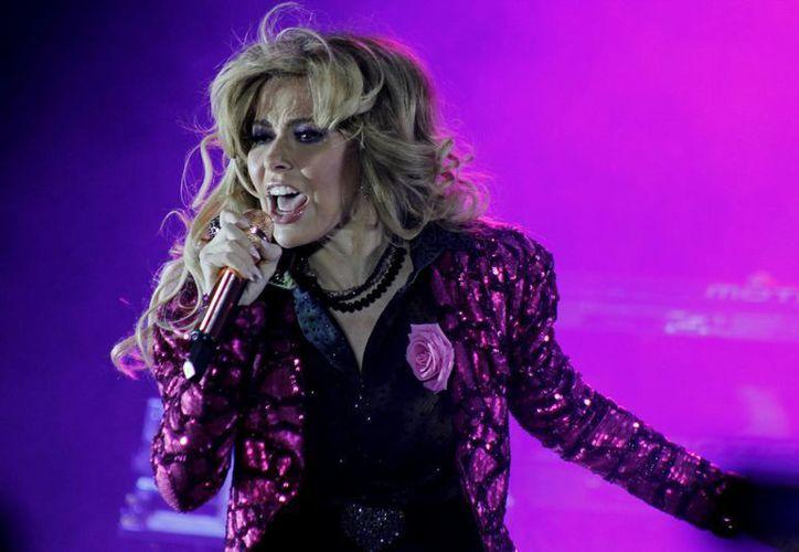 La regiomontana Gloria Trevi, quien formó parte del reality 'La Voz…México', ahora estará en 'La Voz… España'. (Notimex)