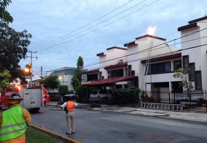 La explosión se registró a las 5:55 de la mañana (Cortesía).