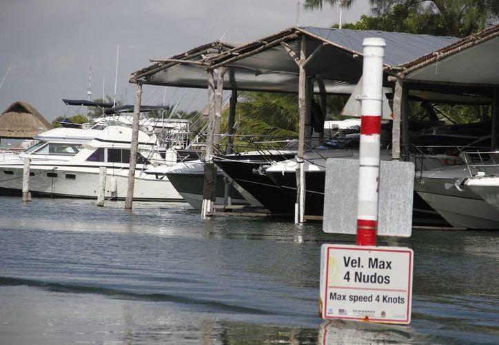Marinas registradas de Cancún registran pérdidas. (Israel Leal/SIPSE)