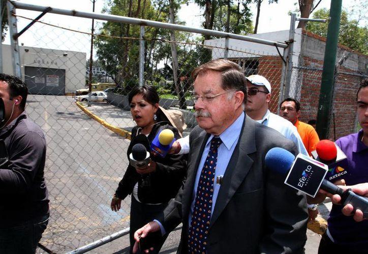 El abogado Eduardo Luengo Creel, quien representa legalmente a Granier. (SIPSE)