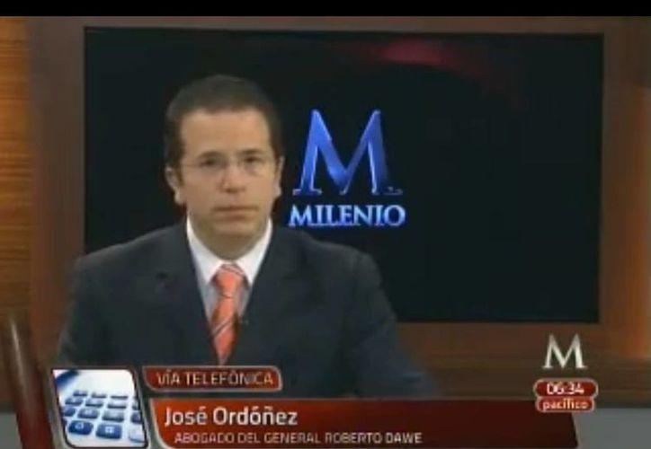 """Ordóñez aseguró que """"se ha dado muestra de que esta administración, que la PGR, está haciendo la función conforme a derecho"""". (MILENIO)"""
