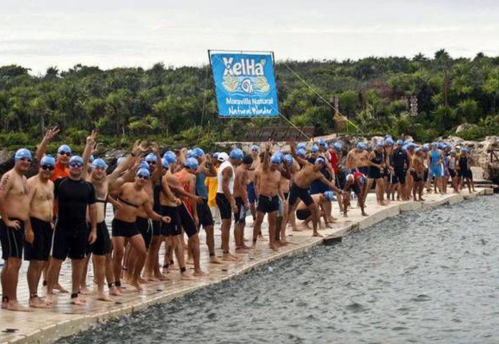 El próximo fin de semana tendrá lugar el Campeonato Nacional de triatlón en el parque Xel-Há. (Contexto/Internet)
