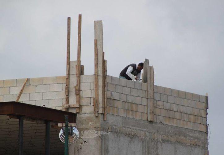 Tres proyectos presentan un avance de obra mediano. (Adrián Barreto/SIPSE)