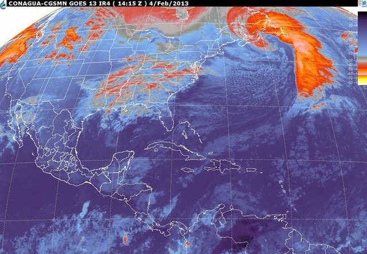 Soplarán vientos del noreste de 20 a 40 km/h. (smn.cna.gob.mx)