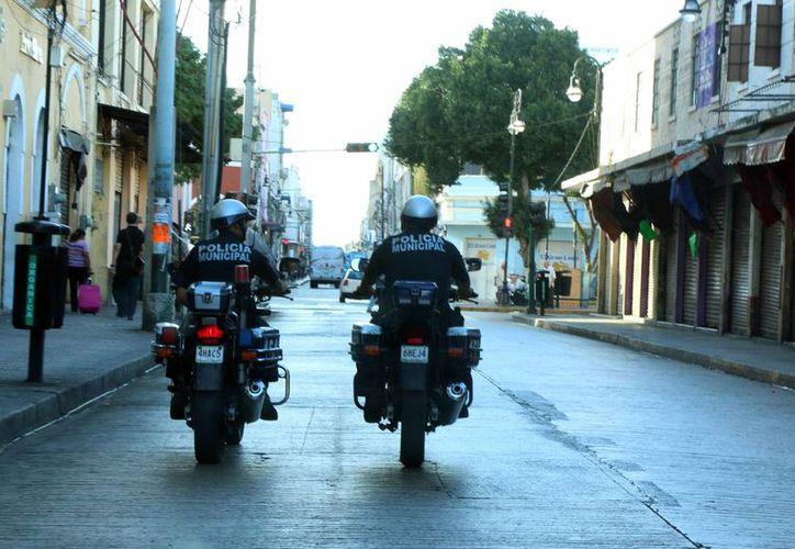 La Policía Municipal de Mérida informó que atendió ocho incidentes viales durante la jornada navideña. (SIPSE)