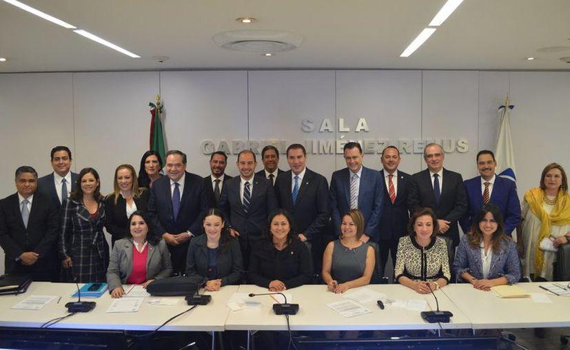 Tras la renuncia de Damián Zepeda fue elegido el nuevo funcionario. (Twitter @ErandiBermudez)
