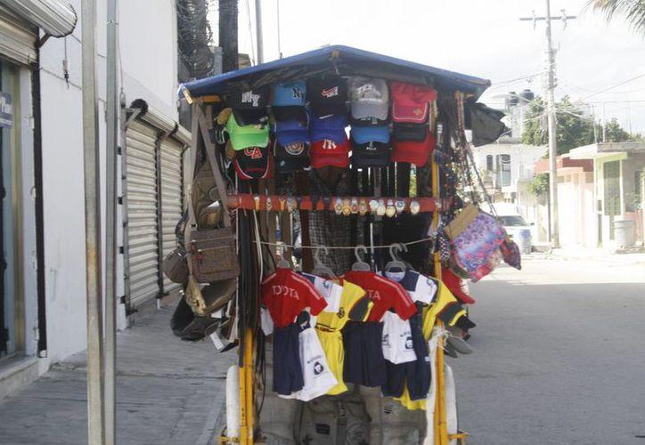 Incrementa el número de afiliados al sindicato de ambulantes. (Loana Segovia/SIPSE)