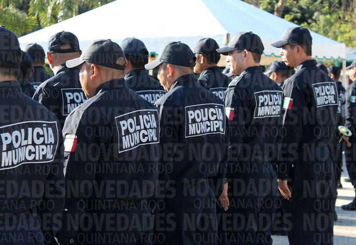 Seguridad Pública se ha acercado a la Uqroo para reforzar el temario de la carrera. (Joel Zamora/SIPSE)