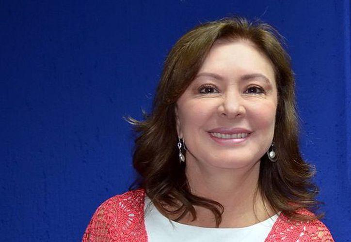 Beatriz Zavala, nueva delegada del CEN Albiazul para Quintana Roo. (SIPSE)