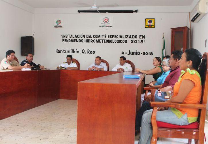 Ayuntamiento instala el Comité Especializado en Fenómenos Hidrometeorológicos. (Raúl Balam/SIPSE)