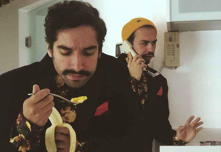Daniel Zepeda e Iván de la Rioja dijeron que ya tiene tres sencillos. (Redacción/SIPSE)