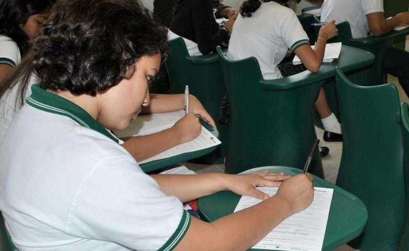 La prueba se aplicará a más de 19 mil estudiantes en la entidad. (Archivo/SIPSE)
