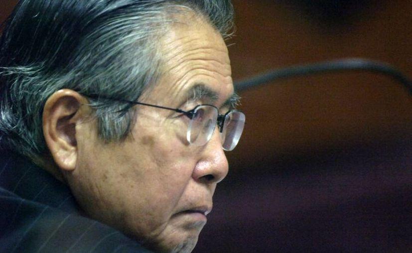 Fujimori cumple desde septiembre de 2007 una condena de 25 años por violaciones a los derechos humanos. (Agencias)