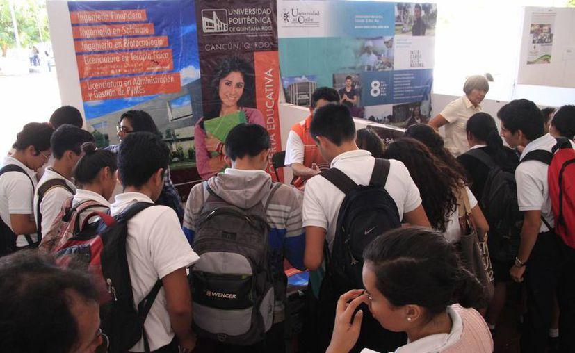 En el evento asistirán 20 instituciones educativas públicas y privadas. (Tomás Álvarez/SIPSE)