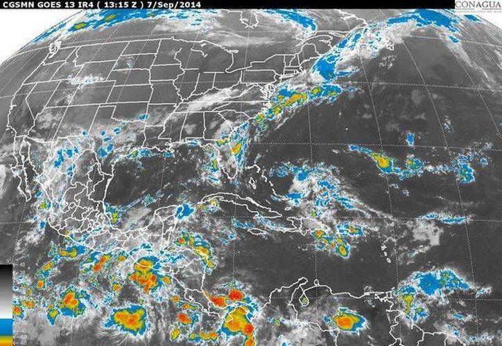 La onda tropical número 27 permanecerá en el sureste y sur del país. (Foto/Conagua)