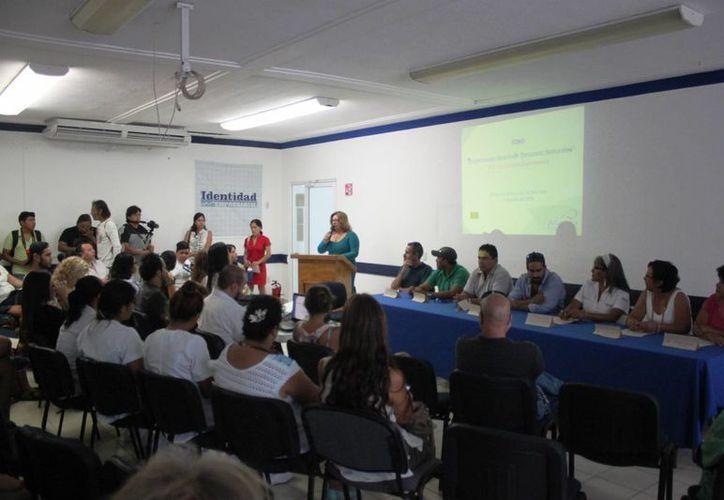 Ayer se realizó el foro 'Respetemos Nuestros Recursos Naturales, Por un Destino Sustentable', en Playa del Carmen. (Daniel Pacheco/SIPSE)