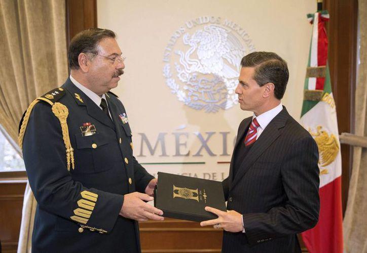 El general Roberto Miranda dijo que el Estado Mayor seguirá actuando con estricto respeto a los derechos humanos. (Notimex)