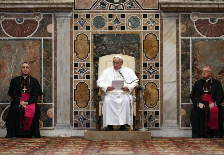 """El Papa dijo que era importante intensificar el diálogo entre las religiones, """"particularmente con el islam"""". (Agencias)"""