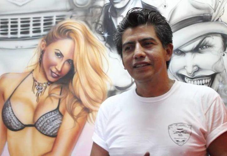 El tuneador Francisco Villalobos, aseguró que el arte realmente lo define el espectador. (Redacción/SIPSE)