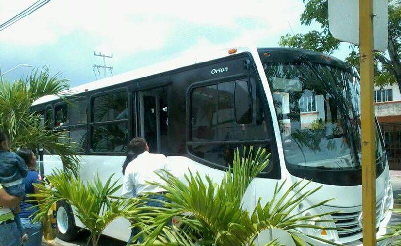 El concesionario sólo podrá cubrir ciertas rutas en Chetumal. (Paloma Wong/SIPSE)
