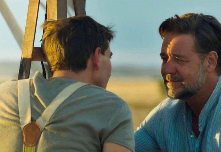 El actor australiano Russell Crowe en una escena de 'The Water Diviner', en la que debutó como director. (apnatimepass.com)