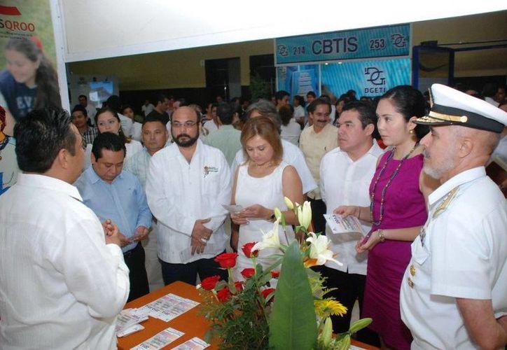 El evento se lleva a cabo en el Centro Internacional de Negocios y Convenciones. (Cortesía/SIPSE)