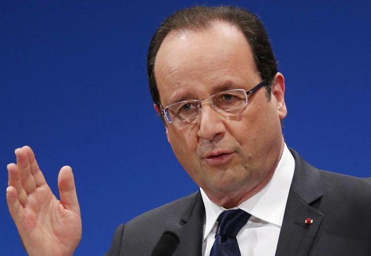 Europa necesita resaltar la competitividad, afirmó Hollande. (Agencias)