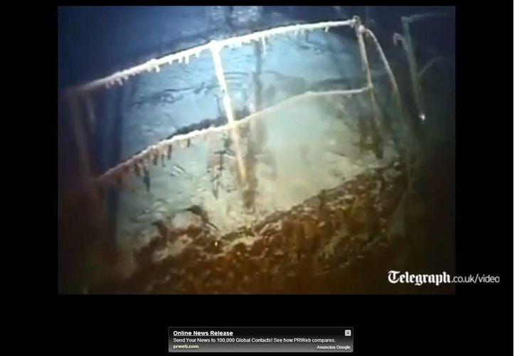 El cargamento de plata estaba en un barco inglés hundido durante la Segunda Guerra Mundial. (Captura de pantalla de video de YouTube)