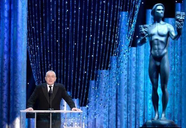 Tribeca Enterprises es una compañía cinematográfica cofundada por Robert De Niro, a quien se ve durante la entrega de los Premios del Sindicato de Guionistas de Cine, en Los Ángeles. (Agencias)