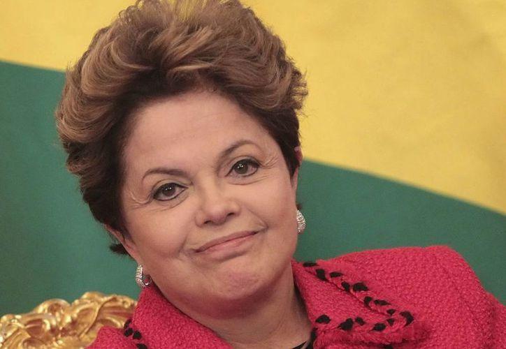 Dilma Rousseff integró un grupo guerrillero durante la dictadura. (EFE)