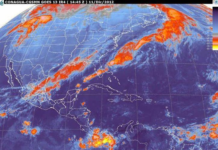 Soplarán vientos del noroeste y sureste de 20 a 40 km/h con rachas. (smn.cna.gob.mx)