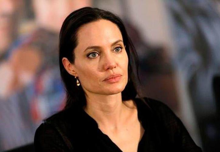 Angelina Jolie compartirá ese rol con el ex ministro británico de Exteriores William Hague. (Reuters).