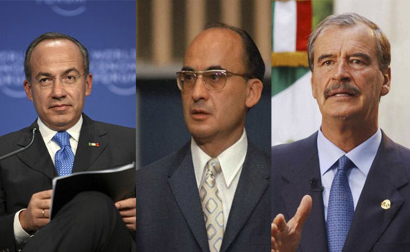 Calderón, Echeverría y Fox, quienes sí reciben su pago, gastan al año entre los tres, siete millones 380 mil pesos. (Foto: Redacción)