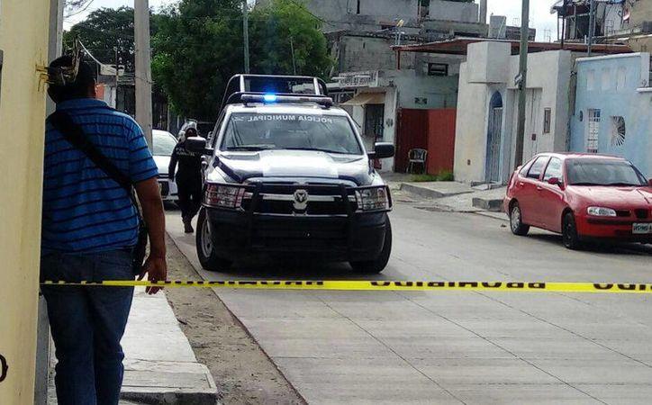 El violento ataque se registró en un domicilio de la Región 89. (Eric Galindo/SIPSE)