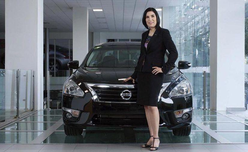 Mayra González fue la primera mexicana en dirigir la operación de un país para Nissan Motor Company. (Nissan)