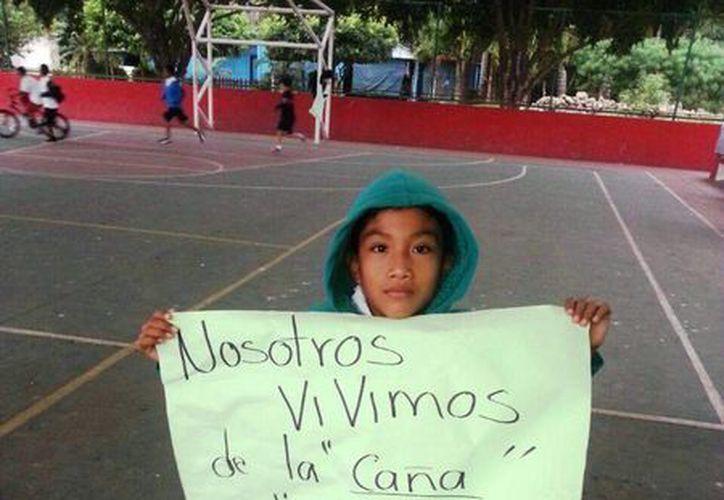 Los niños de comunidades rurales resultan afectados por el nuevo horario de entrada a clases. (Edgardo Rodríguez/SIPSE)