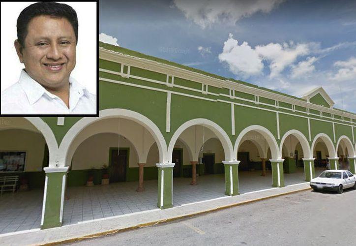 Ex alcalde Josué Manance Couoh de Tekax es acusado de desvío de recursos por parte de su sucesor. (Especial)