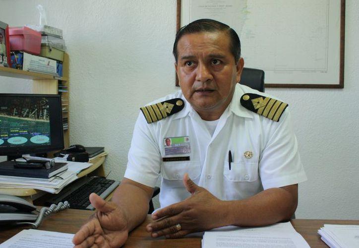 El capitán José Florentino Gallardo dijo que esta semana arrancó el operativo de supervisión y culminará hasta el 18 de diciembre. (Alida Martínez/SIPSE)