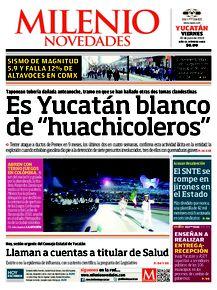 """Es Yucatán blanco de """"huachicoleros"""""""