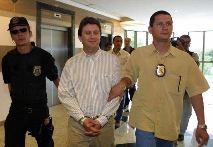 Imagen de Alberto Yousseff, uno de los procesados por la red de corrupción en Petrobras. (tribunahoje.com)