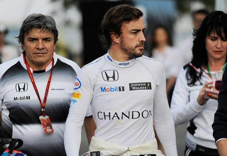 Fernando Alonso cuenta con tres triunfos en el Gran Premio de Bahrein. (AP)