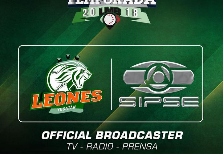 Los partidos de los Leones de Yucatán ahora estarán presentes en todos los medios de SIPSE.