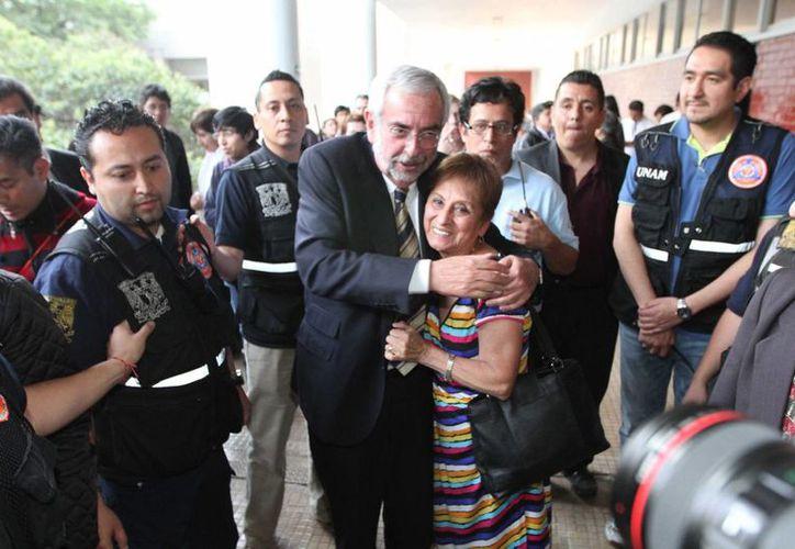 Enrique Luis Graue Wiechers tomará su cargo como rector de la Universidad Nacional Autónoma de México este martes a las 9 de la mañana en ceremonia académica. (Archivo/Notimex)