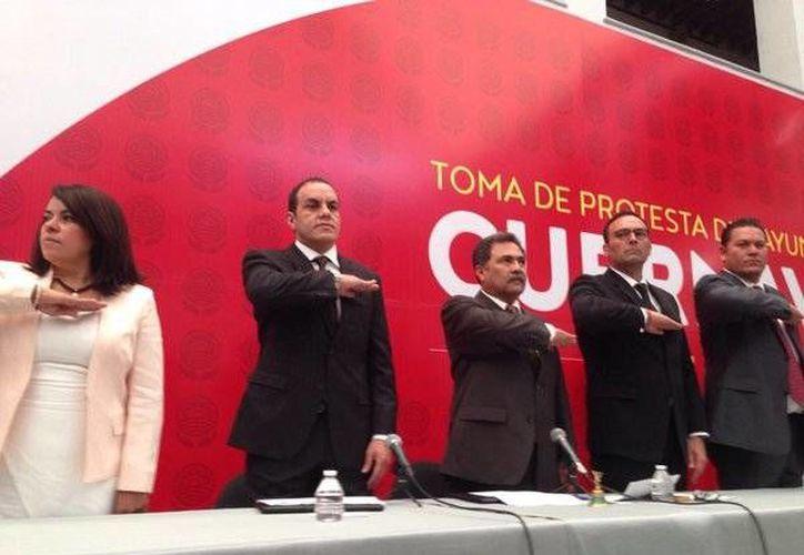 Cuauhtémoc Blanco dijo sentirse orgulloso de representar a todos los habitantes de Cuernavaca. (Twitter.com/@CuauhtemocBco)